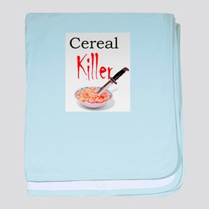 cereal killer baby blanket
