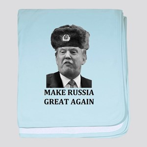 Make Russia Great Again baby blanket