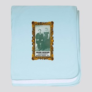 John Behan Sheriff baby blanket