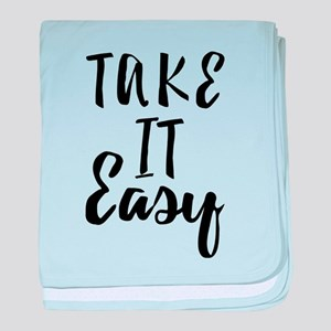 Take it Easy baby blanket