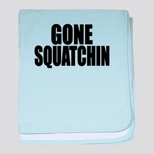 AUTHENTIC Bobo GONE SQUATCHIN baby blanket