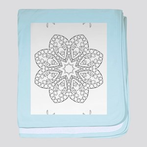Beautiful and Meditative Zen Designs baby blanket