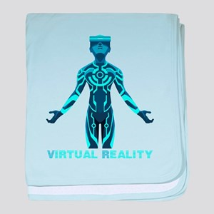 VIRTUAL REALITY VR baby blanket