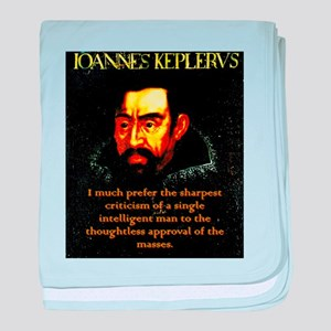 I Much Prefer - Kepler baby blanket