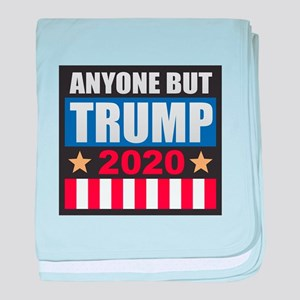 Anyone But Trump 2020 baby blanket