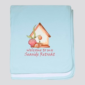 SEASIDE RETREAT baby blanket
