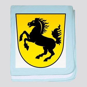 Stuttgart Coat Of Arms baby blanket