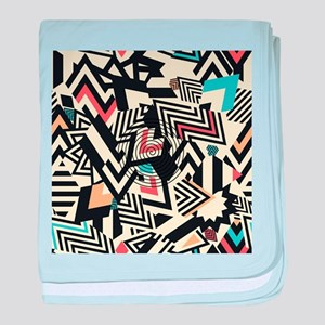 Abstract Pattern baby blanket