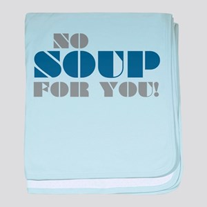 Seinfeld: No Soup For You baby blanket