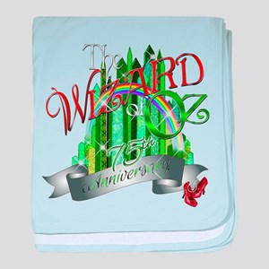 Wizard of OZ 75th Anniversary Emerald baby blanket