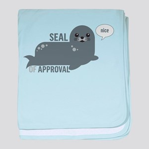 Seal of Approval baby blanket