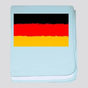 Germany in 8 bit baby blanket