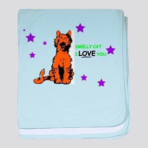 FRIENDS smelly cat baby blanket