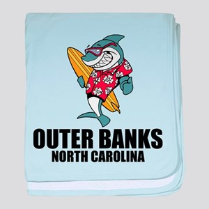 Outer Banks, North Carolina baby blanket
