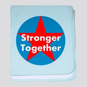 Stronger Together, Hillary 2016 baby blanket