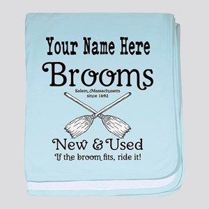New & used Brooms baby blanket