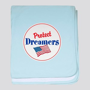 protect dreamers baby blanket