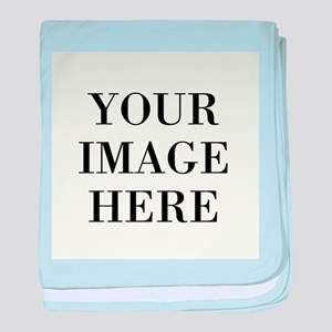 Your Photo Here by Leslie Harlow baby blanket