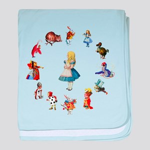 ALL AROUND ALICE baby blanket