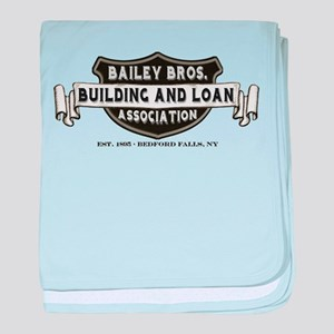 Bailey Bros. B&L baby blanket