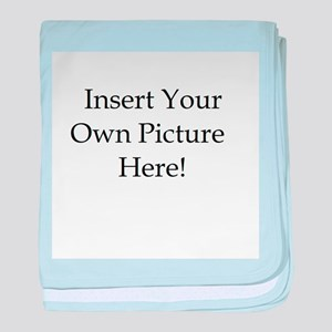 Upload your own picture baby blanket