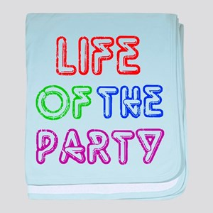 Life of the Party baby blanket