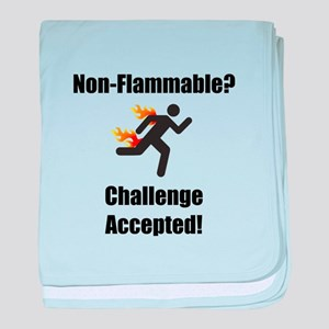 Non Flammable baby blanket
