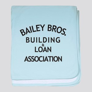 Its a Wonderful Building Loan baby blanket