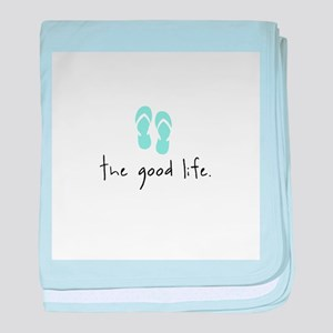 The Good Life baby blanket