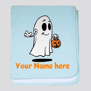 Personalized Halloween baby blanket