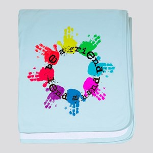 Be a Friend, Lend a Hand baby blanket