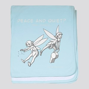 Peace and Quiet? baby blanket