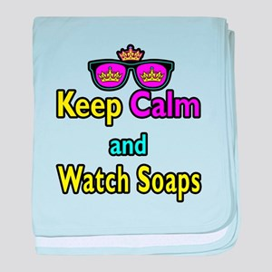 Crown Sunglasses Keep Calm And Watch Soaps baby bl