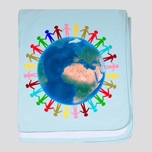 One Earth - One People baby blanket