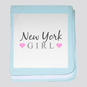 New York Girl baby blanket