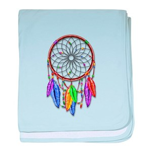 e7383a848ca Dream Catcher Baby Blankets - CafePress