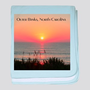 Outer Banks Sunrise baby blanket