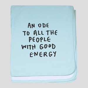 Inspire - Good Energy baby blanket