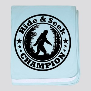 Hide and seek world champion baby blanket