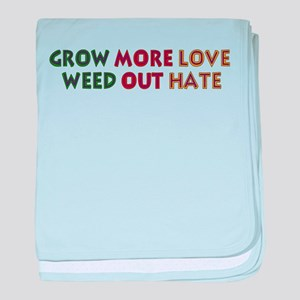 Grow More Love baby blanket