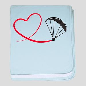 075c56c5 Paraglider Baby Blankets - CafePress