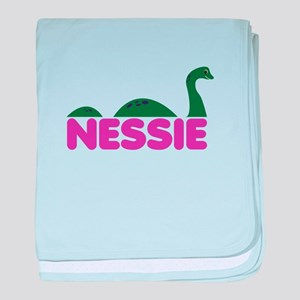 Nessie Monster baby blanket