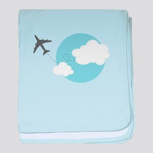 Travel The World baby blanket