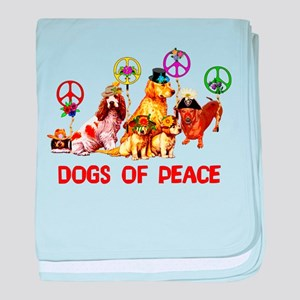 Dogs Of Peace Infant Blanket