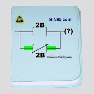 2Bnot2B Ladder Logic baby blanket