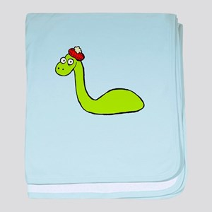 Loch Ness Monster baby blanket