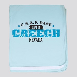 Creech Air Force Base Infant Blanket