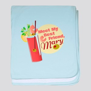 Bloody Mary Baby Blankets Cafepress