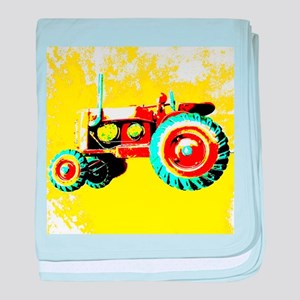 My Tractor baby blanket