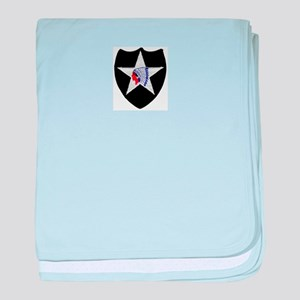 2nd INFANTRY DIVISION baby blanket